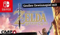Nintendo Switch Konsole und Zelda Fan Artikel gewinnen
