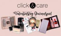 Valentinstags-Geschenkset von click&care gewinnen