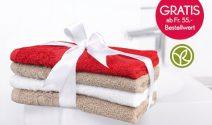 Yves Rocher Handtücherset gratis erhalten