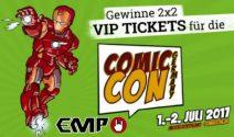 2 x 2 Comic Con VIP-Tickets gewinnen