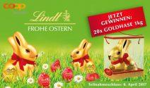 20 x 1 kg Lindt Schokolade gewinnen