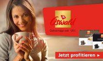 24 x Oswald Kaffeekapseln gratis erhalten