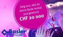 Geldpreise im Gesamtwert von CHF 30'000.- gewinnen