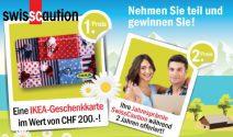 Ikea Gutschein im Wert von CHF 200.- oder Jahresprämie gewinnen