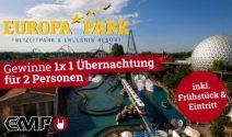 Luxus-Übernachtung für zwei inkl. Europapark Tickets gewinnen