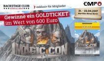 Magic Con Ticket im Wert von über CHF 600.- gewinnen