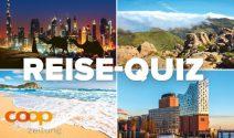 Reisegutscheine, Sony Camera oder COOP Gutschein gewinnen