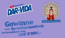 Sprachaufenthalt im Wert von CHF 3'000.- gewinnen