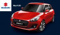 Suzuki Swift, Schlauchbootpaket oder Luxus Weekend gewinnen