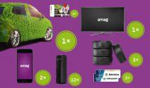 Traumauto, Samsung TV, iPhone und vieles mehr gewinnen