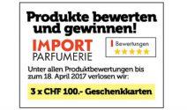 3 x Impo Gutschein im Wert von CHF 300.- gewinnen