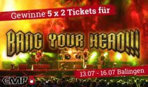 5 x 2 Bang Your Head Festival Tickets gewinnen