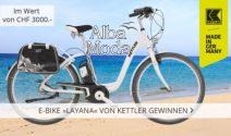Layana E-Bike im Wert von CHF 3'000.- gewinnen
