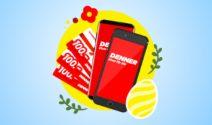 Samsung Galaxy S8, iPhone 7 oder Denner Gutscheine gewinnen