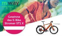 Stromer E-Bike im Wert von CHF 5'390.- gewinnen