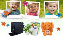 Wickeltasche, Baby Set oder Spielzeug gewinnen