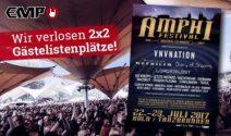 2 x 2 Amphi Festival Tickets gewinnen