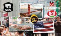 BBQ Trip in die USA und viele Grill Preise gewinnen