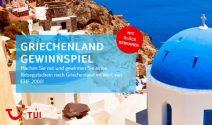 Griechenland Ferien im Wert von CHF 2'000.- gewinnen