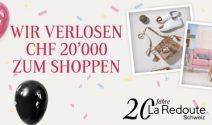 La Redoute Shopping im Wert von CHF 20'000.- gewinnen