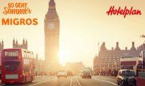 London Trip im Wert von CHF 2'000.- und wöchentlich tolle Preise gewinnen