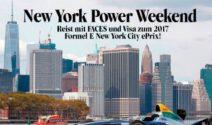 New York Weekend zu zweit gewinnen