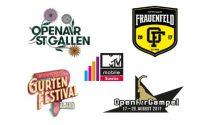 OpenAir St. Gallen, Frauenfeld, Gurten oder Gampel Tickets gewinnen