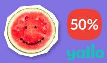 Quasi geschenkt: Yallo fat mit 50% Rabatt bestellen