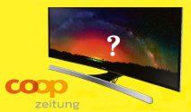 Samsung TV oder COOP Gutscheine im Wert von CHF 1'000.- gewinnen