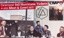 1 x 2 Hurricane inkl. Meet and Greet mit Linkin Park gewinnen