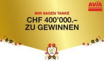 Bargeldpreise im Wert von CHF 400'000.- gewinnen