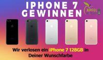 iPhone 7 in der Farbe nach Wahl gewinnen