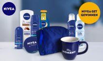 Nivea Kosmetik Set sowie eine myMoment Tasse gewinnen