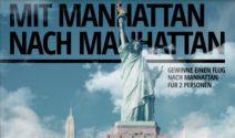 2 x New York Flug oder Manhattan Schminksets gewinnen