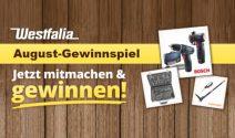 Bosch Bohrschrauber, Blackline Steckschlüssel Satz und mehr gewinnen