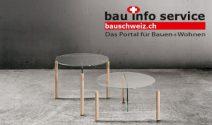 Design Beistelltisch von Glas Trösch Interieur gewinnen