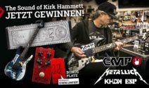 Kirk Hammett Guitar Bundle gewinnen