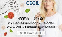 Kochkurs oder Cecil Gutschein gewinnen