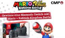 Nintendo Switch Konsole inkl. Mario Spiel gewinnen