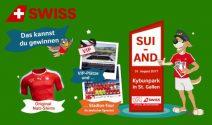 Schweiz – Andorra VIP-Tickets und vieles mehr gewinnen