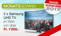 2 x Samsung UHD TV gewinnen