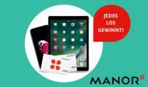 5 x iPhone 7, iPad Pro, Manor Gutschein und mehr gewinnen