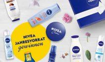 Nivea Pflege Jahresvorrat oder Nivea Parfum gewinnen