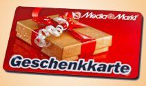 5 x MediaMarkt Gutschein im Wert von über CHF 1'300.- gewinnen
