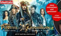 5 x Pirates of the Caribbean Goodies gewinnen