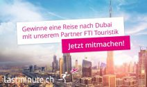 Dubai Ferien zu zweit inkl. Flug & Transfer gewinnen