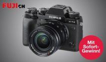 Fuji Kameras, Gutscheine und Sofortpreise gewinnen