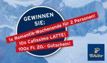 Romantik Weekend in Grindelwald für zwei und mehr gewinnen