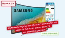 Samsung 4K HD TV gewinnen