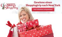 Christmas Shopping in New York gewinnen